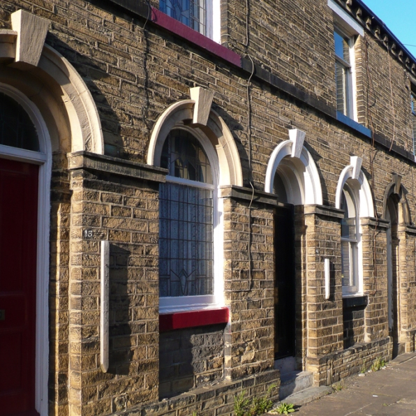 Saltaire houses